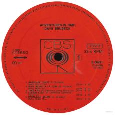 Dave Brubeck - Adventures In Time (2LP, Compilation) (gebraucht VG)