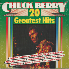 Chuck Berry - 20 Greatest Hits (LP, Compilation) (gebraucht VG)