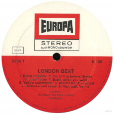 VARIOUS - London Beat (LP, Compilation) (gebraucht G+)