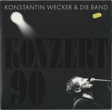 Konstantin Wecker & Band - Konzert 90 (2LP, FOC, Album) (gebraucht VG)