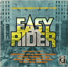 VARIOUS - Easy Rider (LP, Comp., Soundtrack) (gebraucht VG-)