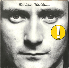 Phil Collins - Face Value (LP, Album) (gebraucht VG)