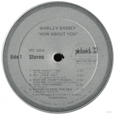 Shirley Bassey - How About You? (LP, Compilation) (gebraucht VG-)