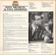 Dave Brubeck And Paul Desmond (LP, Compilation) (gebraucht VG+)