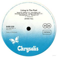 Jethro Tull - Living In The Past (2LP, Album) (gebraucht VG-)