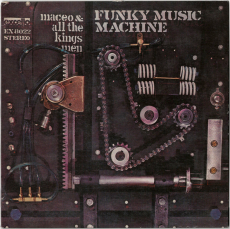Maceo & All The Kings Men - Funky Music Machine (LP, Album, Reissue) (gebraucht VG)