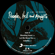 Jimi Hendrix - People, Hell And Angels (2LP, Album) (gebraucht VG+)