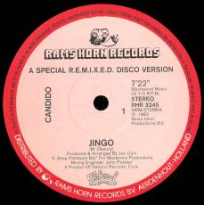 Candido - Jingo (12 Single, Vinyl) (gebraucht VG)