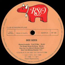 Bee Gees - Bee Gees (LP, Club Ed., Compilation) (gebraucht VG-)