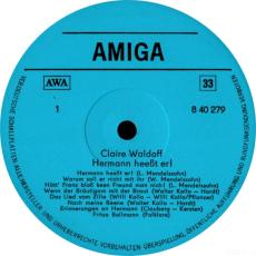 Claire Waldoff - Hermann Heeßt Er! (LP, Comp.) (gebraucht VG)