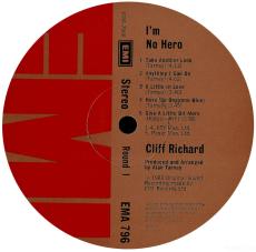Cliff Richard - Im No Hero (LP, Album) (gebraucht VG)