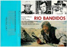 Rio Bandidos - Gilbert Roland, Ed. Byrnes, George Hilton (Super 8, 128 m, s/w, Ton) (gebraucht G)