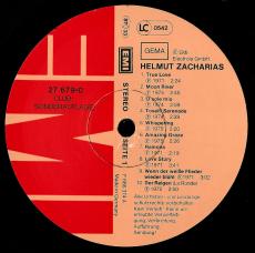 Helmut Zacharias - Helmut Zacharias (LP, Club Ed.) (gebraucht VG)