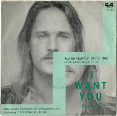 Supermax - I Want You / Salongo (7 Single, Austria) (gebraucht G+)