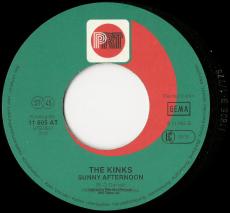The Kinks - Lola / Sunny Afternoon (7 Single, Fehldruck) (gebraucht G-)