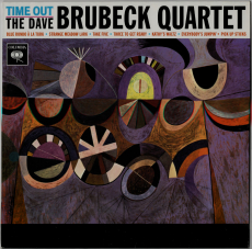Dave Brubeck Quartet - Time Out (LP, 180 g, Reissue) (gebraucht VG+)