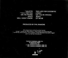 Julian Lennon - Valotte (CD, Album) (gebraucht VG+)