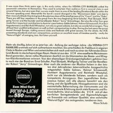 Vienna City Ramblers - On A Saturday Night (CD, Album) (gebraucht VG+)