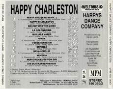 Harrys Dance Company - Happy Charleston (CD, Album) (gebraucht VG+)