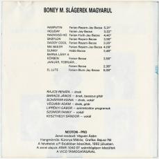 Neoton - Boney M. Slagerek Magyarul (CD, Album) (gebraucht VG-)