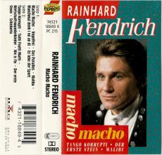 Rainhard Fendrich - Macho Macho (Audiokassette, Album) (gebraucht VG)