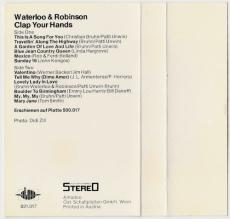 Waterloo & Robinson - Clap Your Hands (Audiokassette, Album) (gebraucht VG)