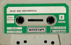 VARIOUS - Blue And Sentimental (Audiokassette, Compilation) (gebraucht G+)
