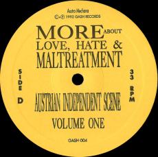 Austrian Independent Scene Volume One - More, About Love, Hate & Maltreatment (2LP, Vinyl) (gebraucht VG-)