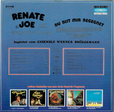 Renate & Joe - Du Bist Mir Begegnet (LP, Album, signed) (used VG+)
