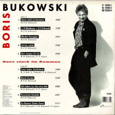 Boris Bukowski - Ganz Stark Im Kommen (LP, Album) (gebraucht VG-)