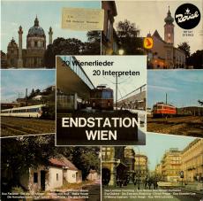VARIOUS - Endstation Wien - 20 Wienerlieder (LP, Compilation) (gebraucht VG+)