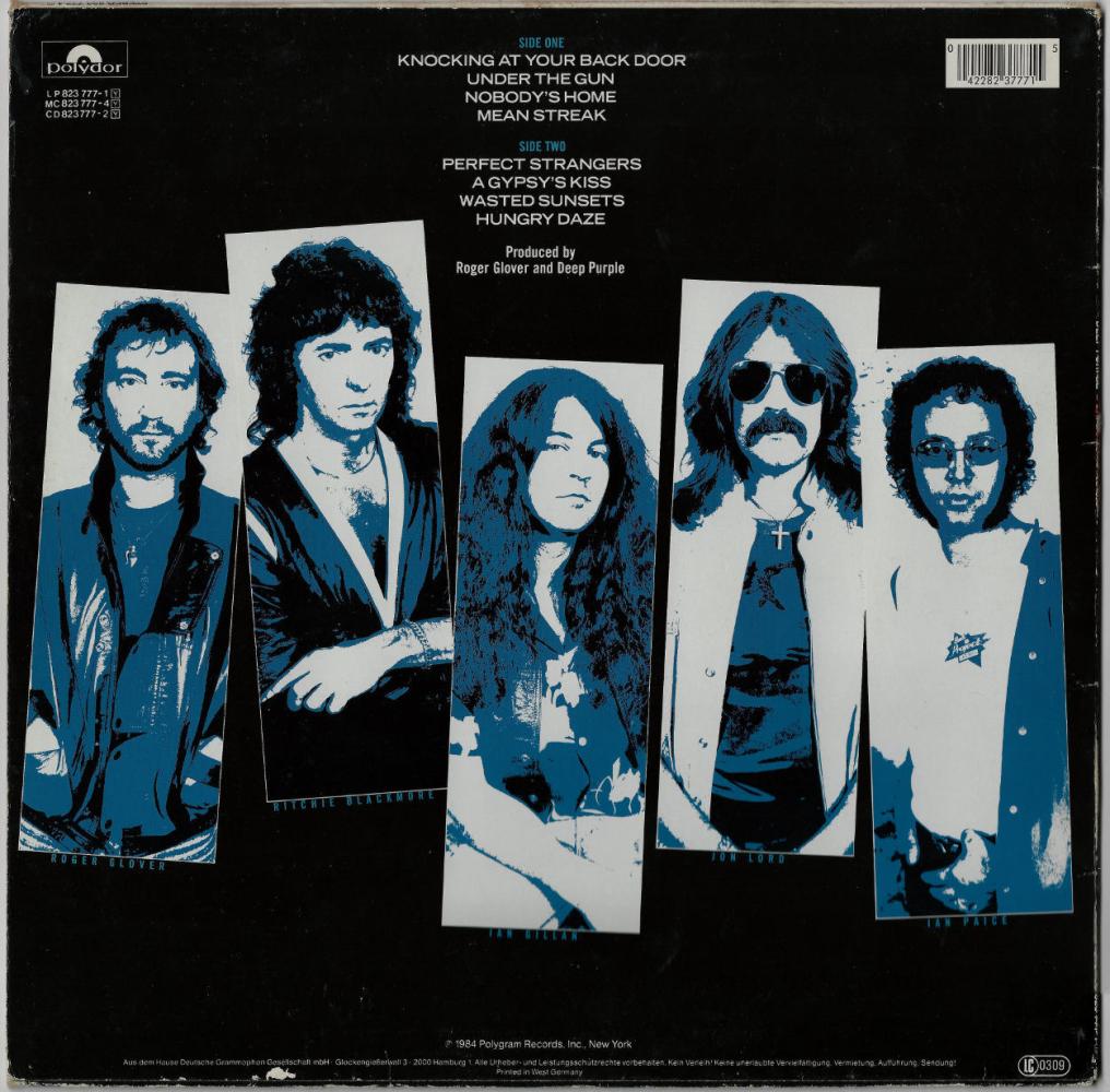 Deep Purple   Perfect Strangers LP, Album gebraucht G