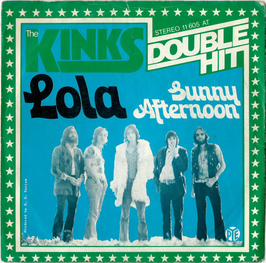 The Kinks Lola Sunny Afternoon 7 Quot Vinyl Fehldruck