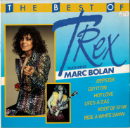 T. Rex Featuring Marc Bolan - The Best Of (LP, Compilation) (gebraucht VG+)