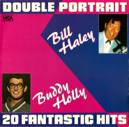 Buddy Holly / Bill Haley - Double Portrait - 20 fantastic Hits (LP, Club Edition) (gebraucht VG-)