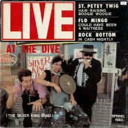 The Silver King Band - Live At The Dive (LP, signiert) (gebraucht VG-)