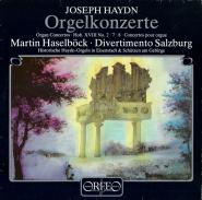 Joseph Haydn - Orgelkonzerte / Martin Haselböck - Divertimento Salzburg (LP, Vinyl) (gebraucht G+)