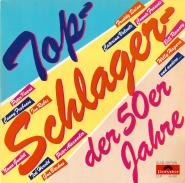 VARIOUS - Top-Schlager der 50er Jahre (2LP, Compilation) (used VG+)