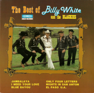 Billy White and the Blackies - The Best of (LP, Compilation) (gebraucht VG)