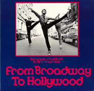 Various - From Broadway To Hollywood (2LP, Compilation) (used VG)