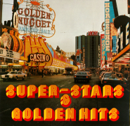 VARIOUS - Super-Stars & Golden Hits (2LP, Compilation, Club) (gebraucht VG)