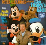 Peter Alexander Präsentiert Walt Disneys Welt (LP, Album, Club) (gebraucht VG-)