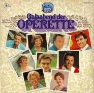 VARIOUS - Galaabend der Operette (2LP, Compilation) (gebraucht VG)