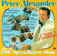 Peter Alexander - serviert die ZDF-Spezialitäten-Show (2LP, Fehllabel, Club Edition) (gebraucht VG)