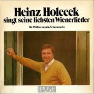 Heinz Holecek - Singt Seine Liebsten Wienerlieder (LP, Album, Club) (gebraucht VG)