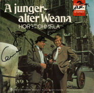 Horst Chmela - A junger-alter Weana (LP, Album, signiert) (gebraucht Akzept.)