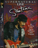 Santana - Supernatural Live (DVD-Video) (gebraucht VG+)
