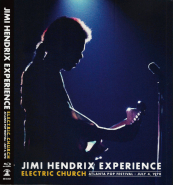 The Jimi Hendrix Experience - Electric Church Atlanta Pop Festival (Blu-Ray) (gebraucht VG+)