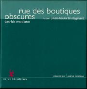 Rue des boutiques obscures, de Patrick Modiano (read by Jean-Louis Trintignant) (5 CD) (gebraucht VG)