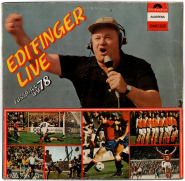 Edi Finger - Live Fussball WM 78 (LP, Vinyl) (used VG-)